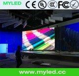 Indicador de diodo emissor de luz padrão ao ar livre do gabinete do ferro de P5 SMD para anunciar