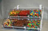 OEM Caliente-Venta de mesa de acrílico envase de alimento de la caja del caramelo (HY-YXI68)