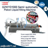 Halfautomatische Vloeibare het Vullen van de Zuiger Machine om Vloeistof (G2WYD1000) Te wassen