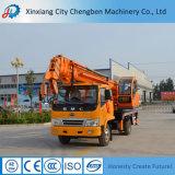 Mini grue mobile chinoise de camion avec le foret