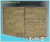 Панель крыши/стены сандвича шерстей/стеклянной ваты дешевого цвета стальная EPS/Rock/доска