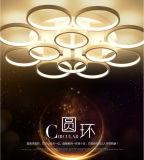 Plafonniers minces acryliques ronds de la lumière DEL Utra d'éclairage LED acrylique