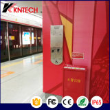 La estación de metro Teléfono Ayuda Point con un lazo de inducción (KNZD-17) Kntech