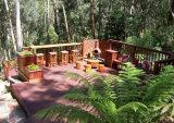 インドネシアMerbauの堅材の屋外の庭のDecking