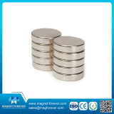 Постоянный тип магнит цилиндра спеченный неодимием