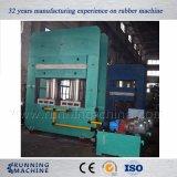 Prensa de moldeo de goma modificada para requisitos particulares/prensa de vulcanización del cristal de exposición