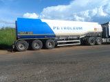 3axle 37000L flüssiger chemischer Tanker-halb Schlussteil