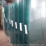 vidro isolado de 1.9mm-25mm Baixo-Ferro desobstruído para o indicador de mostra, etc. (W-TP)