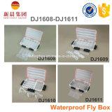 Caja de pesca de plástico transparente Waterprrof