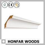 Cornicione di legno del materiale da costruzione per la decorazione interna