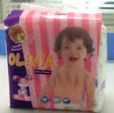 중국에서 최신 판매 좋은 품질 경쟁가격 처분할 수 있는 아기 과료 기저귀 제조자