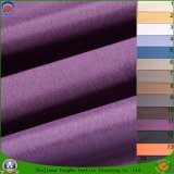 Gewebe gesponnenes Polyester-Gewebe-wasserdichtes Franc-Beschichtung-Stromausfall-Vorhang-Gewebe für gebrauchsfertigen Vorhang