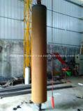 tipo horizontal CNC de Rolls del trabajo de los 4m que endurece la máquina