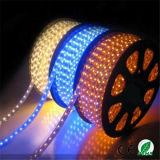 Luz de tira flexible de SMD5050 LED impermeable para la decoración de la Navidad
