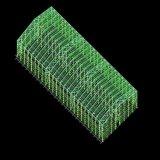 La granja prefabricada de la estructura de acero vertió con precio barato