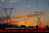 Torre da transmissão de Megatro 1000kv 10A2-Zbc3