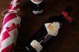 Clinquant d'estampage chaud de modèle étonnant sur la bouteille de papier et de vin