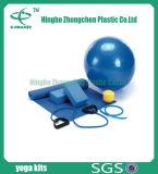 Conjunto de kit de ioga essencial para o conjunto de ioga básica para iniciantes