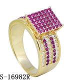 여자 Hotsale를 위한 은 보석 다이아몬드 반지