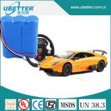 토치 빛 건전지를 위한 재충전용 7.4V 5200mAh 리튬 건전지