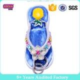 Fábrica Alta qualidade Rhinestone Shoes Flip Flop encantos