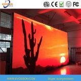 P10 LED a todo color que hace publicidad de la pared del vídeo de la visualización LED