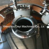 Tampas inoxidáveis inoxidáveis do tanque do furo do homem D400 com vidro de vista