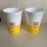 las tazas de papel impresas más nuevas del Milkshake 16oz (YHC-078)