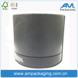 Рециркулируйте прокатанную бумагой коробку олова вахт подарка круга пробки бумажную упаковывая