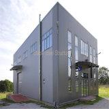 Edificio comercial prefabricado del marco de acero con Niza diseño