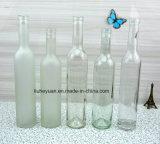 bouteille en verre transparente du vin 500ml rouge
