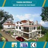 Casa, hotel, tienda, uso de oficina y estructura de acero ligero con paneles de sandwich EPS