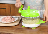 Suministro de la fábrica Eco-Friendly Multi-Fuction Twisting Vegetales Chopper