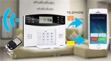 Função de voz fabricada em fábrica Controle de telefone celular LCD Sreens Home Alarm System
