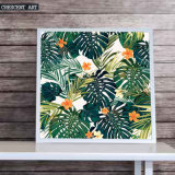 Cycles Wall Art Tropic Flowers Canvas Print