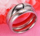 2017 anéis de dedo Titanium novos