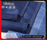 tela 9.9oz da sarja de Nimes do estiramento do algodão do Twill do Slub 10s