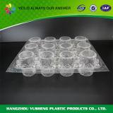 Container van de Verpakking van de Blaar van de Bakkerij van Cupcake de Plastic