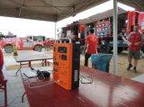 El generador y el cargador solares portables utilizan su vida al aire libre