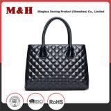 Neue Entwurfs-Qualitäts-Leder-Schwarz-Form-Frauen-Handtaschen