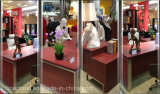 オフィスのための新しい流行の商業木の机は使用した(AT032)