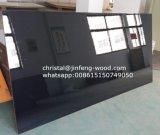 grão de madeira de 1220*2440mm/MDF UV lustroso elevado branco de mármore de /Warm