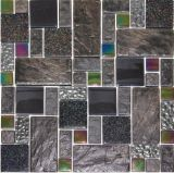 Cerámica y metal Mosaico (MR012)