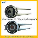 Инструмент ремонта Divot гольфа металла магнитный с отметкой шарика