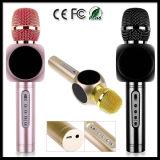 Microfoon Bluetooth van de Speler van de karaoke de Draagbare Draadloze met Mic Spreker