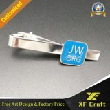 Pin el metal de la manera/el hierro/el esmalte/de las mancuernas y de lazo de encargo profesionales del níquel fijaron para los hombres (XF-CF03)