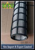 Filtro aglomerado do cilindro do engranzamento de fio do aço inoxidável