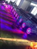 Lumière de PARITÉ de zoom de la qualité 19PCS DEL pour l'événement