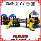 Ce Certificate Children Plastic Outdoor Play Structure