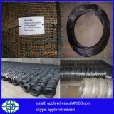 25kgコイルの黒い鉄ワイヤー